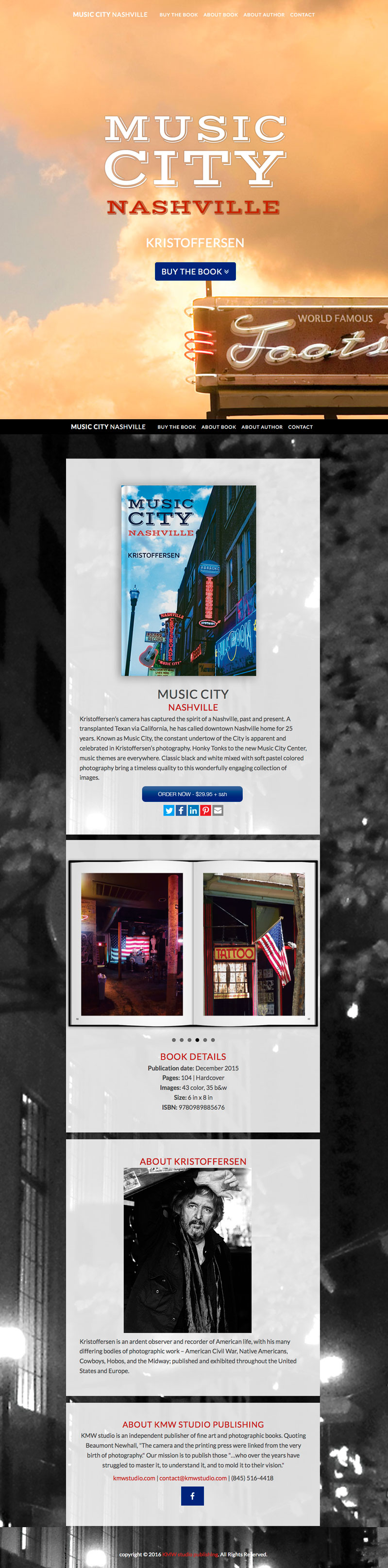 Author Website Design by Art and Books – Art and Book Design